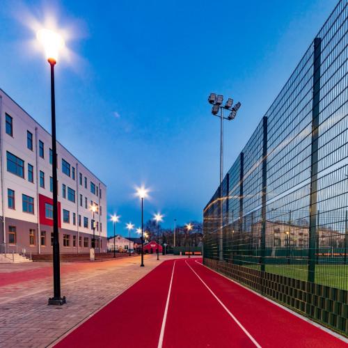 Mārupes pamatskolas stadiona apgaismojums