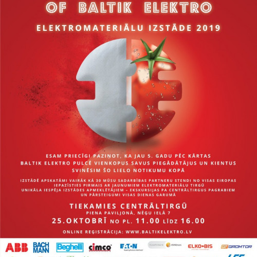 Taste of Baltik Elektro-Elektromateriālu izstāde 2019!
