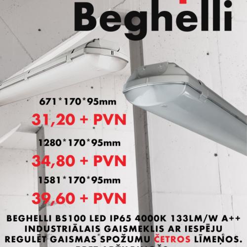 Akcija Beghelli gaismekļiem 19/05/2020