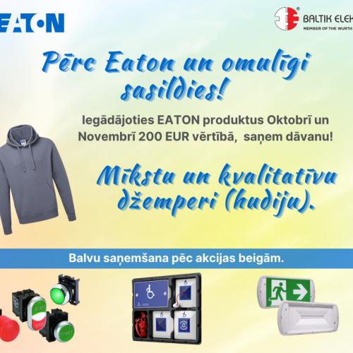 Eaton akcija 01/10/2020