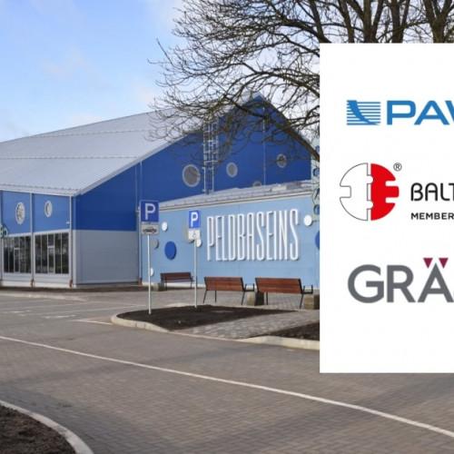 Sadarbībā ar Pawbol Baltic Rēzeknes filiāle nodrošina Ludzas peldbaseina ēku ar talis II klātbūtnes sensoriem